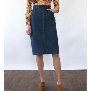 Calvin Klein | Vintage High Waist Pencil Skirt